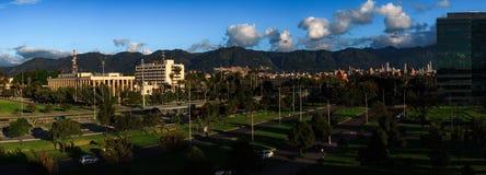DOSEN-Überblick BogotÃ-¡ Kolumbien lizenzfreie stockbilder