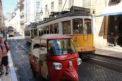 Dosis Lissabon Stock Foto