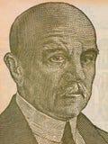 Dositej Obradovic portrait. From Yugoslavian money Royalty Free Stock Image
