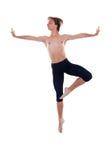 doskakiwanie baletniczy mężczyzna zdjęcia stock