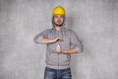 Doskonalić ochraniać twój nieruchomość Zdjęcie Royalty Free