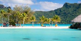 Doskonalić plażę na Bor Borach Zdjęcie Royalty Free