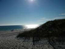Doskonalić popołudnie na plaży obrazy stock