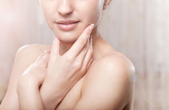 Doskonalić skórę Obrazy Royalty Free