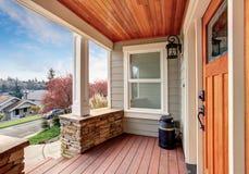 Doskonalić zakrywającego balkon z widokiem Obraz Stock