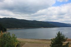 Dospat dam in Bulgaria Stock Photos