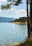 Dospat lake, Bulgaria Royalty Free Stock Images