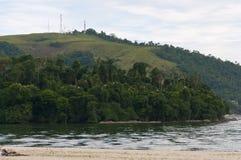 DosReis strand van Angra Royalty-vrije Stock Foto's