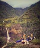 Dossel à cachoeira Imagem de Stock Royalty Free