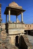 Dossel aberto em Kumbh Mahal, Chittorgarh imagens de stock royalty free