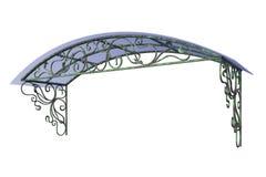 Dossel do ferro forjado ilustração stock