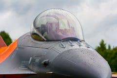 Dossel F-16 Imagem de Stock