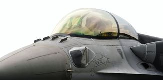 Dossel F16 Imagem de Stock