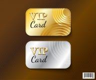 Dossier de conception-vecteur de symbole de carte de VIP Photographie stock libre de droits