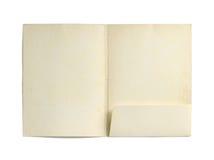 Dossier de papier photographie stock libre de droits