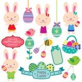 Clipart (images graphiques) doux de Pâques Image stock