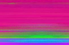 Dossier numérique corrompu abstrait d'ordinateur avec les pixels déplacés illustration stock