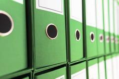 Dossierarchief, Ring Binders Stock Afbeeldingen