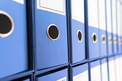 Dossierarchief, Ring Binders Royalty-vrije Stock Afbeeldingen