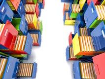 Dossierkabinet Royalty-vrije Stock Foto