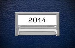 2014 Dossierlade Stock Afbeelding