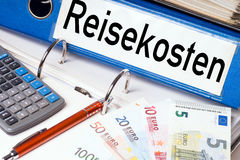 Dossieromslag Stock Foto