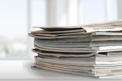 Dossieromslagen met documenten  royalty-vrije stock afbeelding