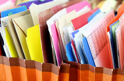 Dossiers Stock Afbeeldingen