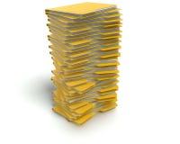 Dossiers/concept de dossiers. Photos libres de droits