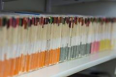 Dossiers d'affaires Photographie stock libre de droits