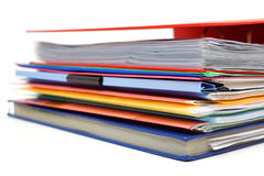 Dossiers et dossiers Image libre de droits