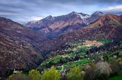Dosso del Liro (Lago di Como) and landscape view Stock Images