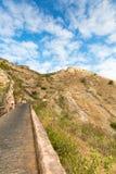 Dostęp Nahargarh fort, Jaipur, Rajasthan, India fotografia royalty free