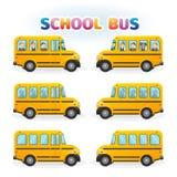 dostępne autobusu eps ilustracji szkoły wersja Zdjęcia Stock