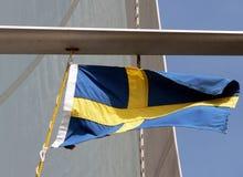 dostępne bandery stylu szkła Szwecji wektora Obrazy Royalty Free