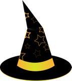 dostępne hat ilustracyjna wiedźma nosicieli Zdjęcie Stock