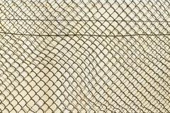 dostępnego tła ogrodzenia bezszwowy wektorowy biel drut Obrazy Royalty Free