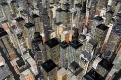 dostępny duży miasta ikony wektor Obrazy Stock