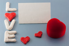 dostępny karciany dzień kartoteki valentines wektor Obraz Royalty Free