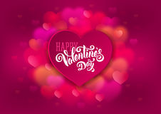dostępny karciany dzień kartoteki valentines wektor Fotografia Royalty Free