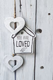 dostępny karciany dzień kartoteki valentines wektor Zdjęcia Stock