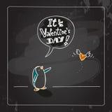 dostępny karciany dzień kartoteki valentines wektor Obrazy Stock