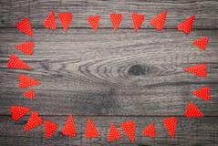 dostępny karciany dzień kartoteki valentines wektor Dekoracyjny rocznika tło z sercem Obrazy Stock