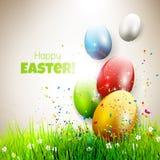 dostępny karciany Easter eps kartoteki powitanie Zdjęcia Stock
