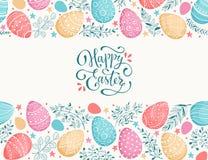 dostępny karciany Easter eps kartoteki powitanie ilustracja wektor