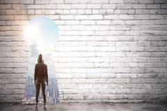 Dostępu i sukcesu pojęcie obraz stock