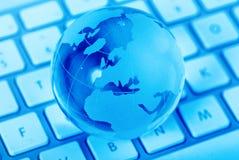 dostęp do internetu z powodu globalnego Zdjęcie Stock