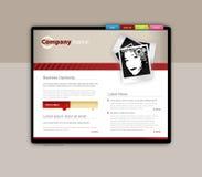 dostępna oba eps8 formatów jpeg szablonu strona internetowa Obrazy Royalty Free