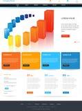 dostępna projekta eps8 formatów jpeg szablonu strona internetowa Zdjęcia Stock