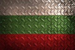 dostępne Bulgari flagi okulary stylu wektora metal tekstura na tle Zdjęcie Stock